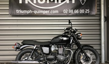 "BONNEVILLE T100 BLACK ""DIRT"""