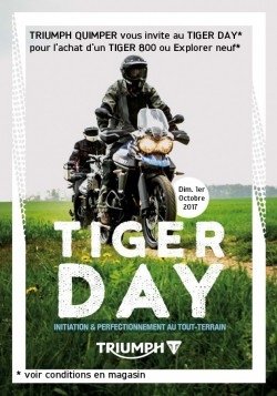 Tiger Day offert