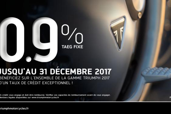Taux 0,9% TAEG fixe